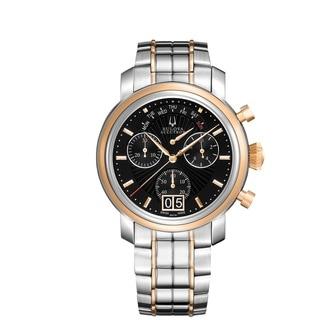 Bulova Accutron Men's 65C110 Swiss Chronograph Watch