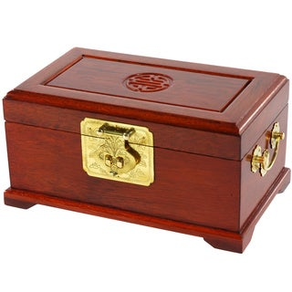 Merbu Wood Jewelry Box (China)