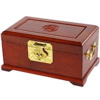 Handmade Merbu Wood Jewelry Box (China)
