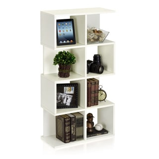 Malibu Eco Friendly 4-Shelf Bookcase Modern Storage Shelf LIFETIME WARRANTY (made from sustainable non-toxic zBoard paperboard)