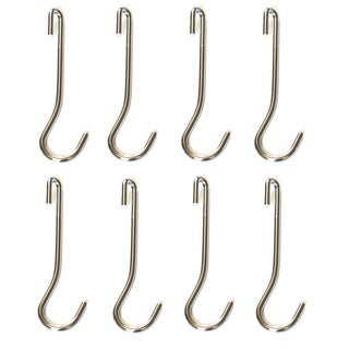 Cooks Standard Large 5.25-inch Universal Pot Rack Hooks (Set of 8)
