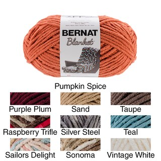 Bernat Blanket Big Ball Yarn (Option: Silver Steel)