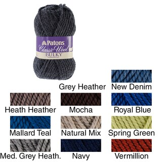 Classic Wool Bulky Yarn (More options available)