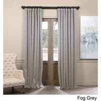 Exclusive Fabrics Extra Wide Thermal Blackout 84-inch Curtain Panel