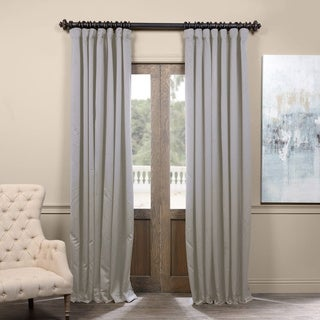 Exclusive Fabrics Extra Wide Thermal Blackout 96-inch Curtain Panel - 100 x 96