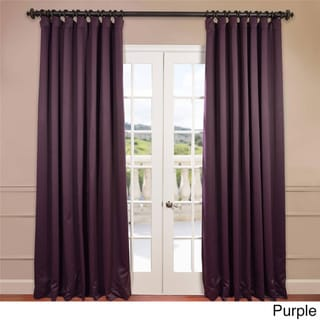 Exclusive Fabrics Extra Wide Thermal Blackout 108-inch Curtain Panel
