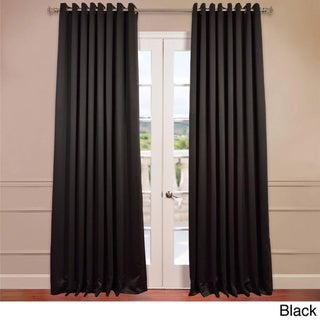 Black,108 inches Curtains & Drapes - Shop The Best Deals For Mar 2017