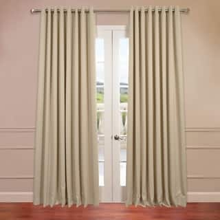 Exclusive Fabrics Extra Wide Thermal Blackout Grommet Top 108-inch Curtain Panel|https://ak1.ostkcdn.com/images/products/9315584/P16476109.jpg?impolicy=medium