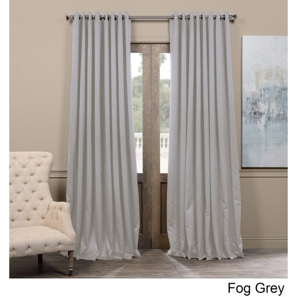 exclusive fabrics extra wide thermal blackout grommet top 120 inch curtain panel 40f210c0 5833 4713 bcc7 30ed84075712 600 89835