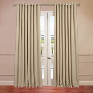Exclusive Fabrics Extra Wide Thermal Blackout Grommet Top 120-inch Curtain Panel|https://ak1.ostkcdn.com/images/products/9315585/P16476110.jpg?impolicy=medium