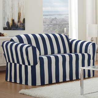 Cabana One-piece Relaxed Fit Wrap Sofa Slipcover