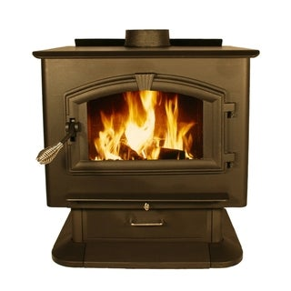 Large Wood Stove With Blower Free Shipping Today Overstock Com 16476241