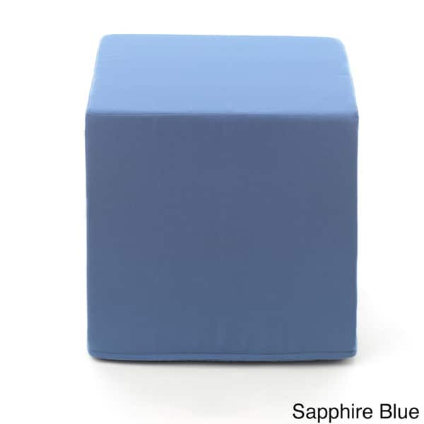 Groovy Shop Sunbrella Indoor Outdoor Cube Pouf Free Shipping On Machost Co Dining Chair Design Ideas Machostcouk