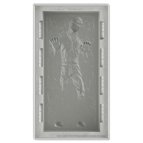 Star Wars Han Solo In Carbonite Silicone Ice and Chocolate Mold