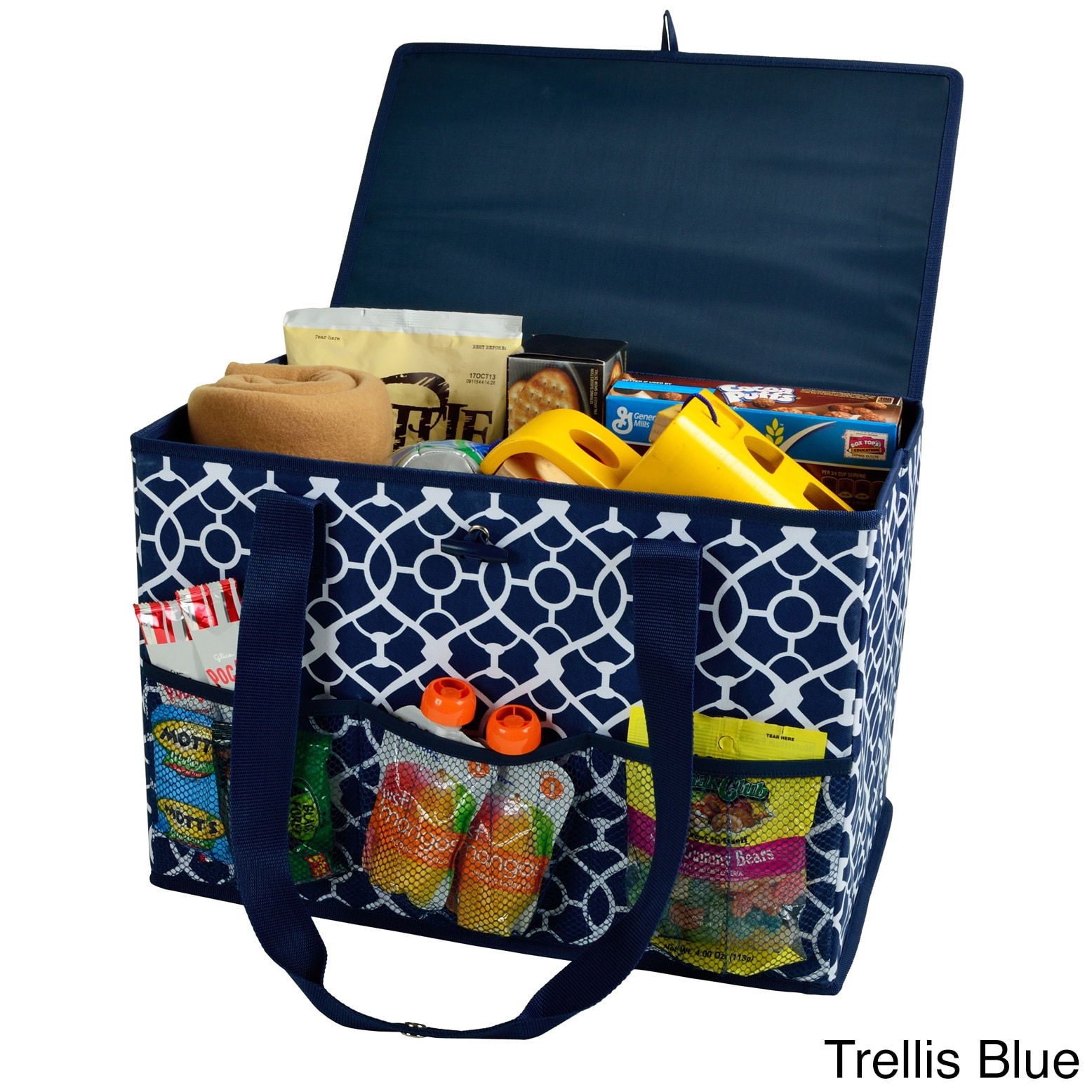 Picnic at Ascot Collapsible Home and Trunk Organizer (Blu...