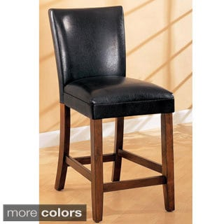 Versailles Contemporary Counter Height Stools (Set of 2)