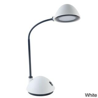 Lavish Energy Saving Bright LED Goose Neck Dome Desk Lamp (Set of 2)