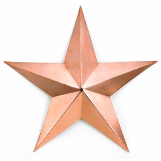 Good Directions Polished Copper Star
