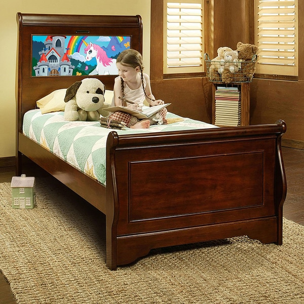 Lighting Shop Sale Cheshire: Shop LightHeaded Beds Edgewood Twin Sleigh Bed In Cheshire