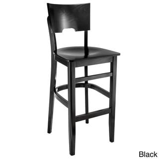 Index Bar Stool (Black - Black Finish)