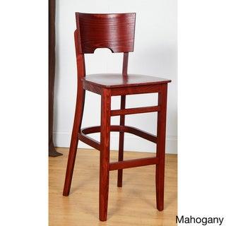 Index Bar Stool (Mahogany - Mahogany Finish)