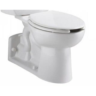 Yorkville Elongated White Toilet Bowl