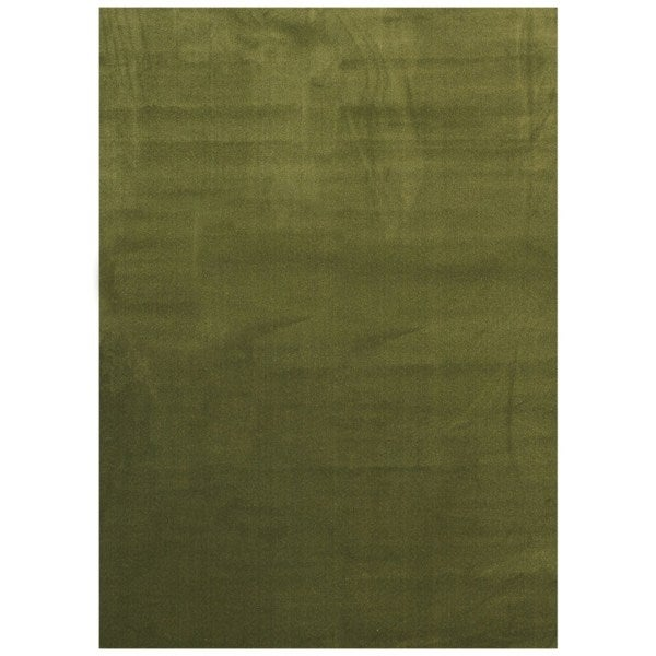Maxy Home Collection Solid Sage Green Single Color Area Rug (7u002711 X 9