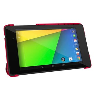 rooCASE Slim Shell Origami Case Smart Cover for Google Nexus 7 FHD 2013 (2nd Generation)