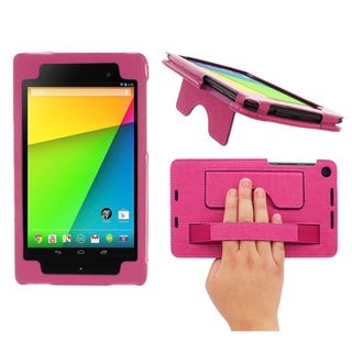 rooCASE Executive Portfolio Leather Case with Stylus for Google Nexus 7 FHD 2013 (2nd Generation)