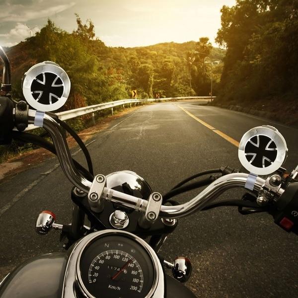 Pyle PLATVB84A 800W Motorcycle Weatherproof Dual Handle-bar 3-Inch Speakers