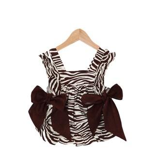 Suzy Q Zebra Baby Apron
