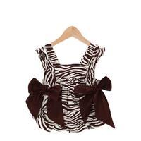 Zebra Suzy Q Baby Pinafore