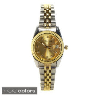 Vecceli Women's L-549 Fashion Two-tone Watch