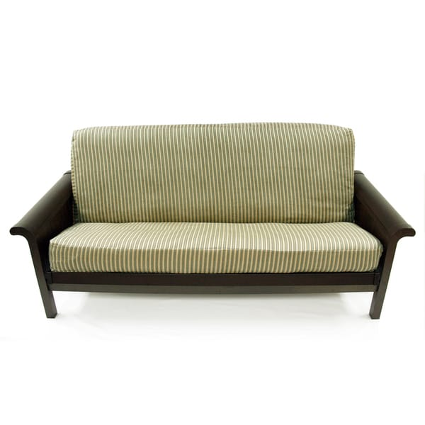 Emilia Stripe Full size Futon Cover Free Shipping Today