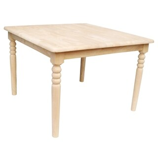 Square Unfinished Juvenile Table