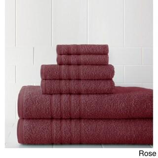 Luxurious Combed Cotton 6-piece Towel Set