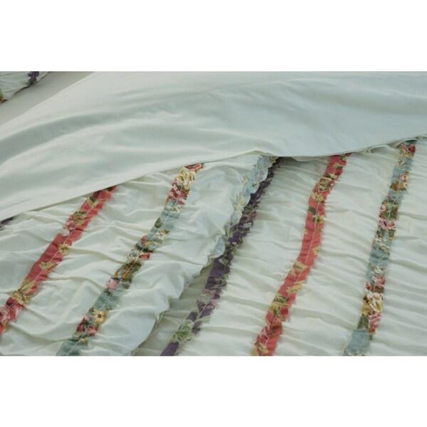FLORAL Masie DUVET COVER SINGLE DOUBLE KING SIZE Bedding Set 3 COLOURS