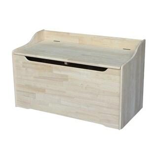 Juvenile 38-inch Unfinished Storage Box