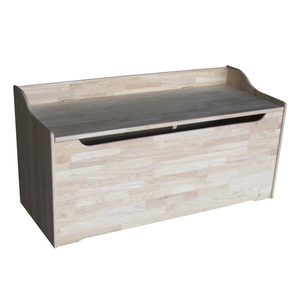 Juvenile 47 Inch Unfinished Storage Box Free Shipping