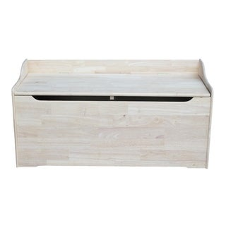 Juvenile 47-inch Unfinished Storage Box