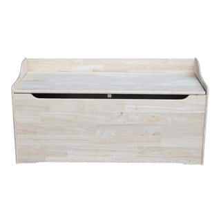 Juvenile 47-inch Unfinished Storage Box