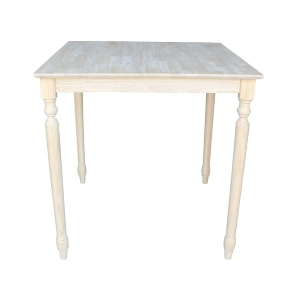 36 Inch Square Kitchen Table: Shop The Gray Barn Fairy Glen Unfinished Square 36-inch