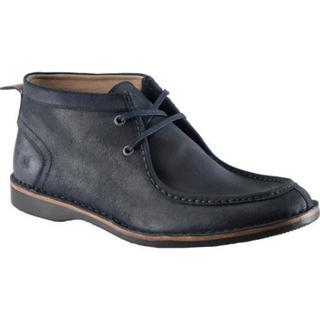Men's Andrew Marc Dorchester Moc Seare Black Shoes