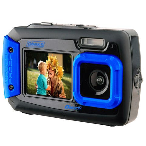Coleman Duo2 20 MP Waterproof Digital Camera and Dual Screen LCD