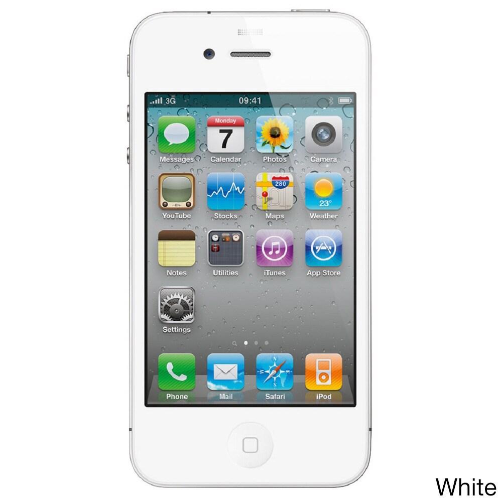 Apple iPhone 4 8GB Verizon CDMA Cell Phone (Refurbished)
