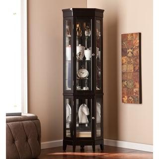 Harper Blvd Turin Black Curio Display Cabinet