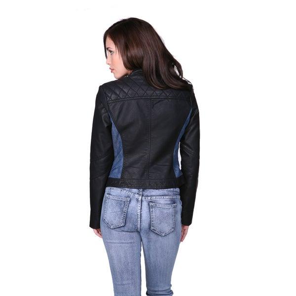 Black Leather Sono Women's Jacket Cavalini Ci Shop With PiuOZTkX