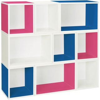 Oxford Eco Friendly Stackable Modular Storage Cube and Rectangle System LIFETIME WARRANTY (made from zBoard paperboard)