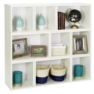Oxford Eco Stackable Modular Storage Cube and Rectangle System by Way Basics LIFETIME GUARANTEE