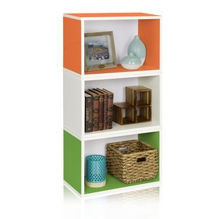 Hillcrest Eco Friendly Stackable Modular Rectangle Bookcase System LIFETIME WARRANTY (made from non-toxic zBoard paperboard)